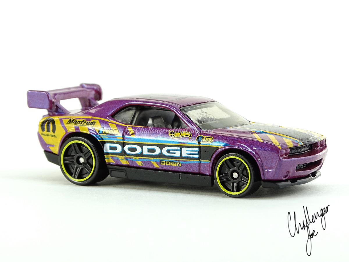 Hot Wheels Dodge Challenger Drift Car Pearlescent Purple